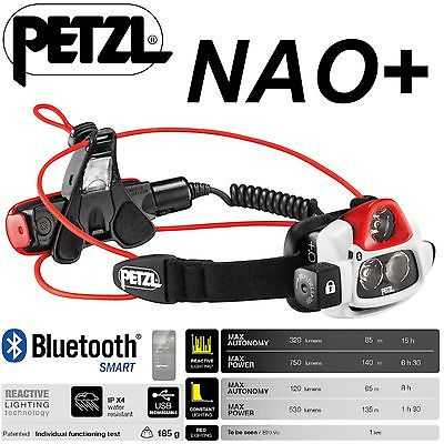 PETZL-NAO-Lampe-Frontale-Réactif-Lighting-Batterie