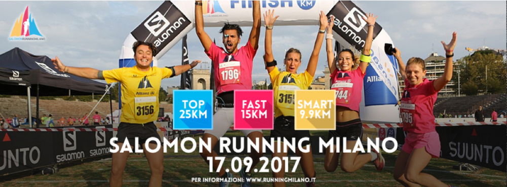 SALOMON RUNNING MILANO by NICO DE CORATO