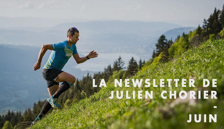 JULIEN CHORIER : la newsletter est là !