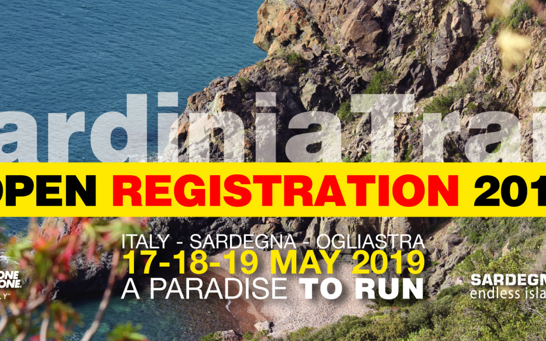 Open registration to the 8th Sardinia Trail 2019