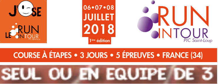 Run in tour 2018 1ére édition