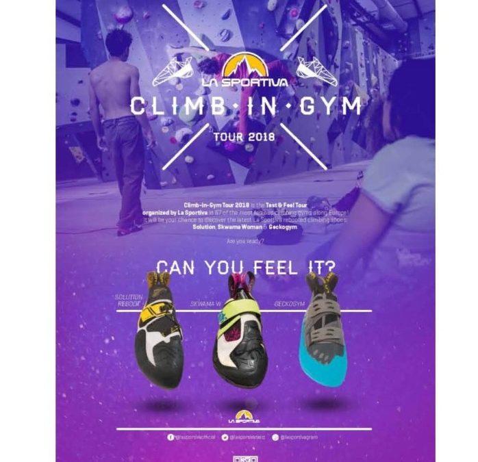 Les prochaines dates du Climb in Gym Tour de La Sportiva