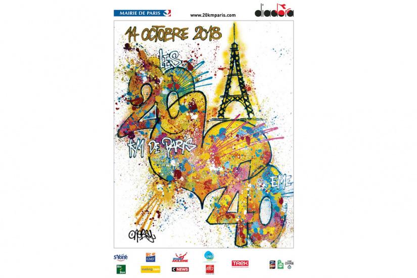 20km de Paris : Le plateau d'élites et Retransmission en live stream des 20km de Paris