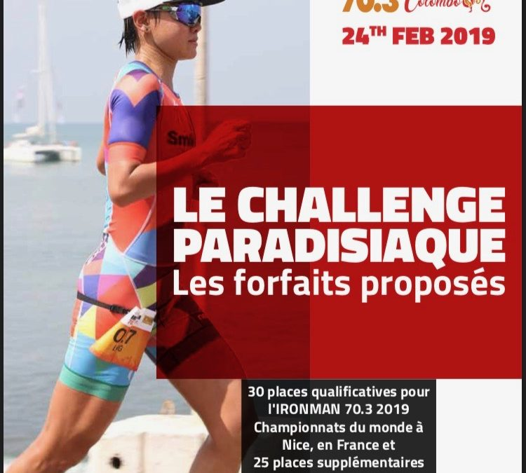 Ironman 70.3 Colombo Sri Lanka : packages de course en français