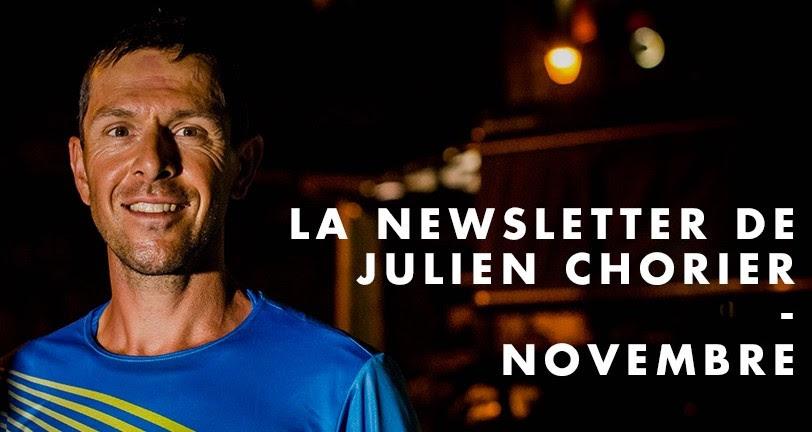 Julien Chorier et la newsletter de Novembre
