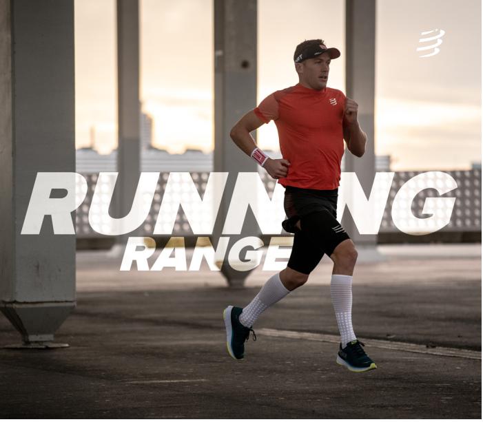 GAMME RUNNING COMPRESSPORT : Partez léger et visez la performance !