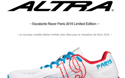 Escalante racer Paris 2019 limited edition
