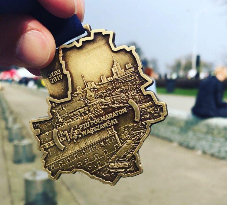 14ème semi marathon de Varsovie : une course festive.