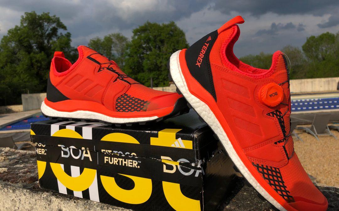 Adidas Terrex Agravic Boa : agressive, dynamique et lookée pour vos trails.