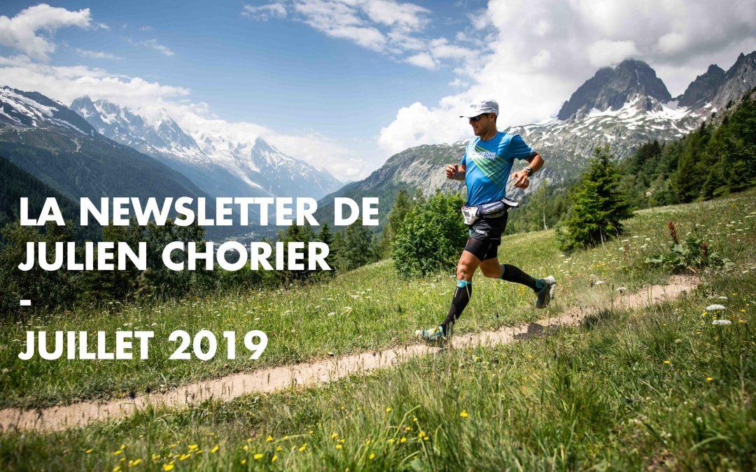 La newsletter de Julien Chorier