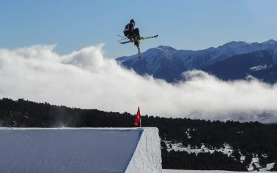 La Coupe du Monde de ski Slopestyle à Font Romeu