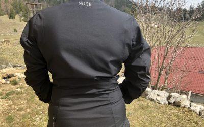 LA veste Gore WearR3 Partial Windstopper