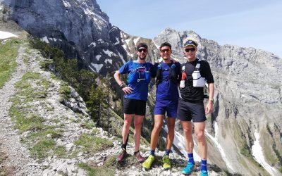 La Traversée, trois athlètes en quête d'aventure.