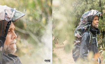 Découvrez la capuche amovible Overcap Oxaz, une protection de pluie dédiée aux amateurs des activités outdoor.