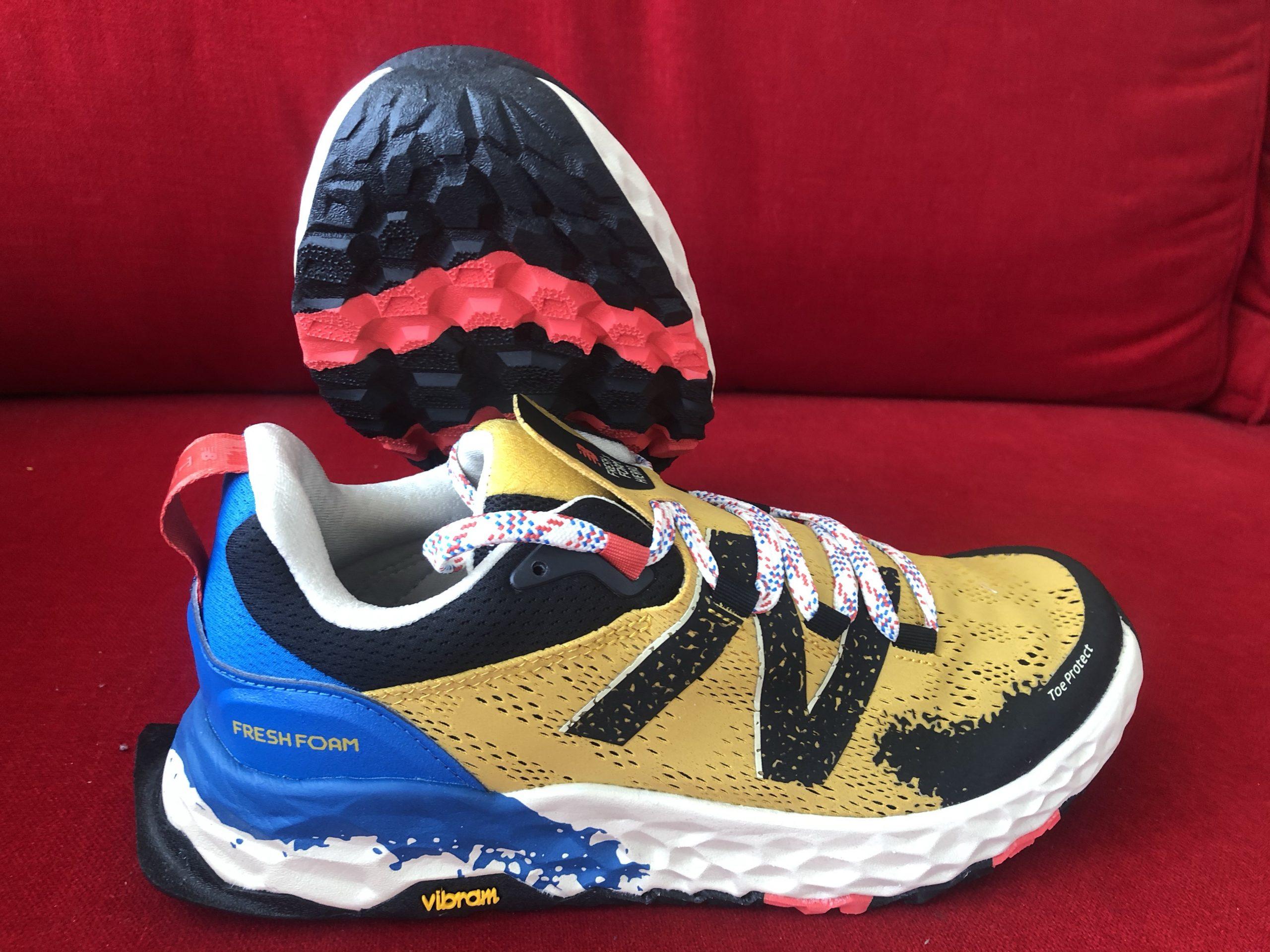 Test des chaussures de trail New Balance Fresh Foam Hierro V5.