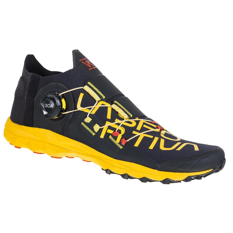 Chaussures de trail Sportiva VK Boa jaunes et noires