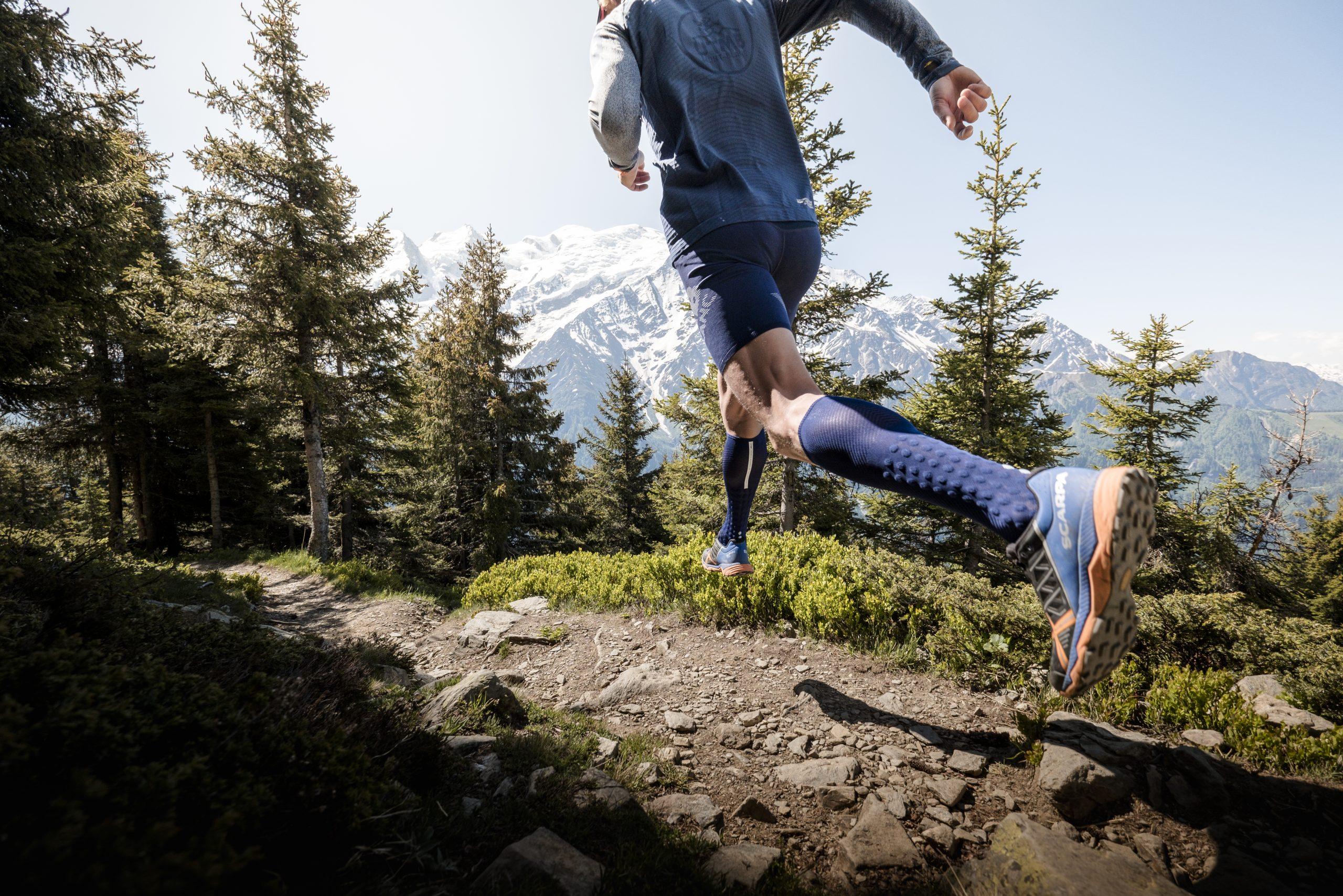 Vêtements de sport outdoor Compressport, marque partenaire de l'Ultra Trail du Mont Blanc.