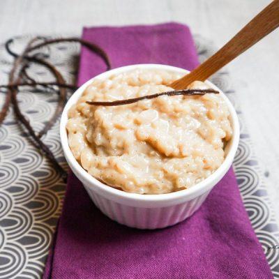 Recette du riz au lait à la caroube