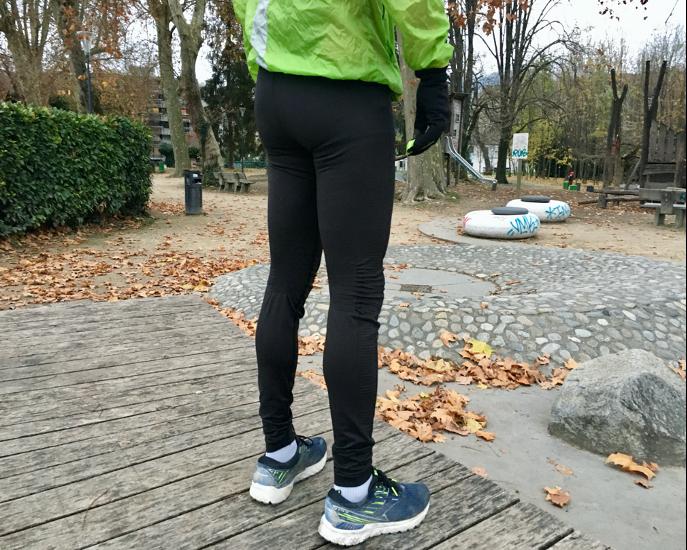 legging running homme noir Brooks Streaker Tight