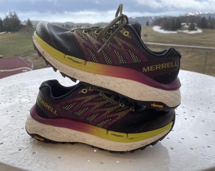 Test outdoor de la chaussure trail running Merrell Rubato : une traileuse au drop zéro.