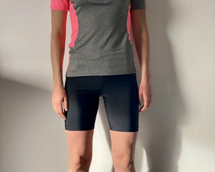 Test outdoor du Short compression Vera et T-shirt Charcoal BodyCross