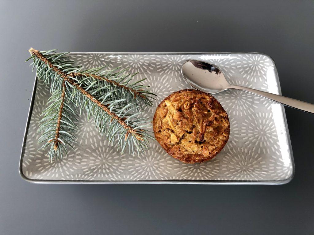 Muffins pomme banane. Une recette saine et gourmande pour les sportifs outdoor !