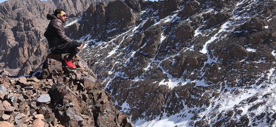 Ibrahim Bennouna a pour projet de gravir le sommet du K2.