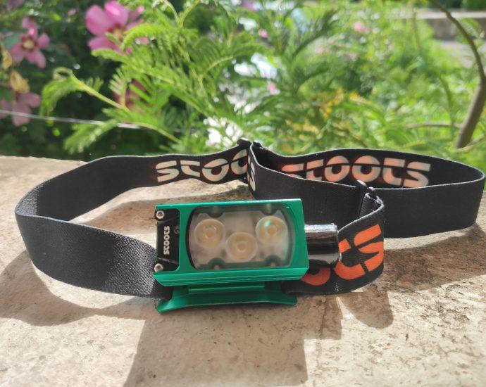 Test de la lampe frontale outdoor Stoots Kiska 2