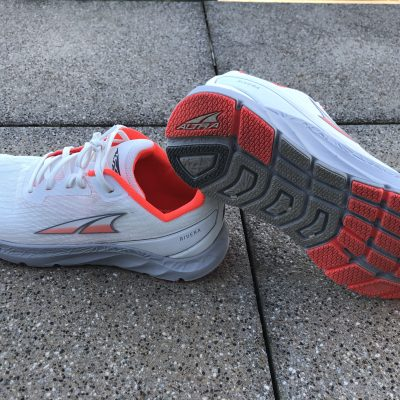 Test outdoor des chaussures running Altra Riveira.