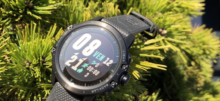 Test outdoor de la montre Coros Vertix : une montre de sport taillée pour l'aventure !