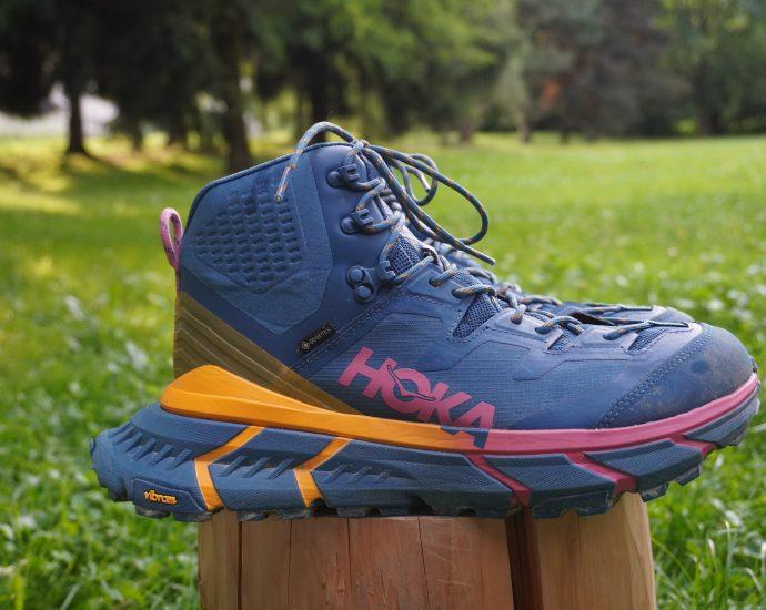 Test des chaussures Hoke Tennine Hike GTX : des chaussures de randonnées atypiques.