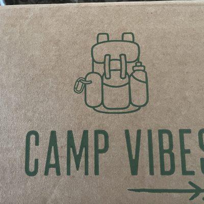 Test de la Box Camp Vibes : la box de randonnée.