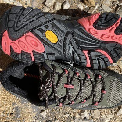 Test des chaussures de randonnées Merrell Moab 2 GTX.