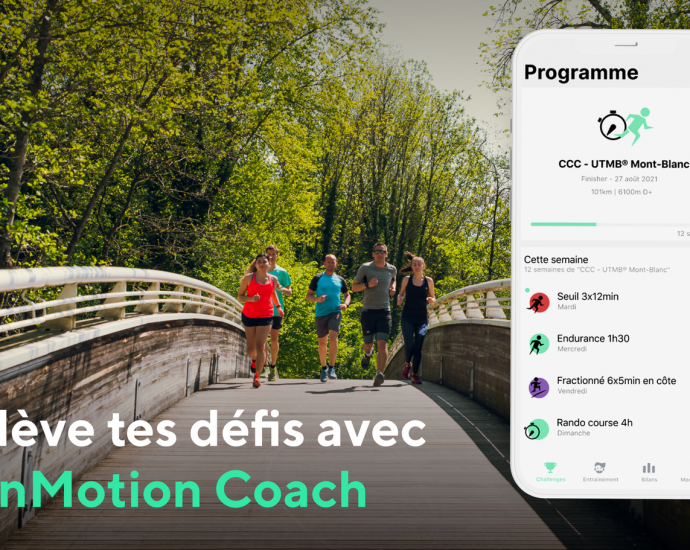 RunMotion Coach : les nouveautés